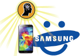 Authorized Samsung Galaxy S5 Repair - Toronto and Mississauga Repair Centre Locations - Screen, charging port, battery, headphone jack, and other components replacement, 7 days a week with extended hours.