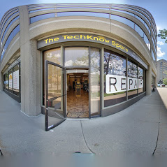Techknow Space Street Entrance in Mississauga