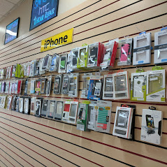iPhone Accessories and Products mounted on Wall for Sale
