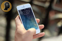 An iPhone repaired at The TechKnow Space in Toronto ON near the Rogers Centre & CN Tower and in Mississauga City Centre near Square One Shopping Mall