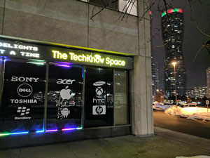 The TechKnow Space Mississauga Location - Square One